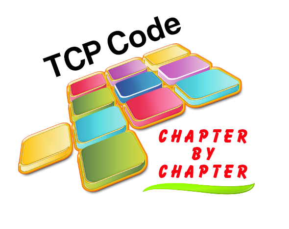 TCP Code - Chapter By Chapter - All chapters