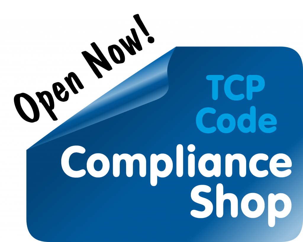 TCP Code Compliance Shop