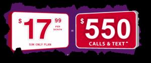 Telco plan pricing