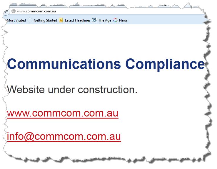 Communications Compliance