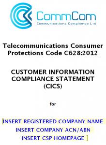 Customer Information Compliance Statement