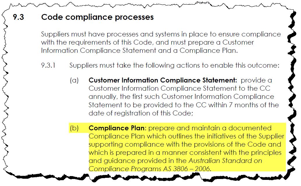 Compliance Attestation