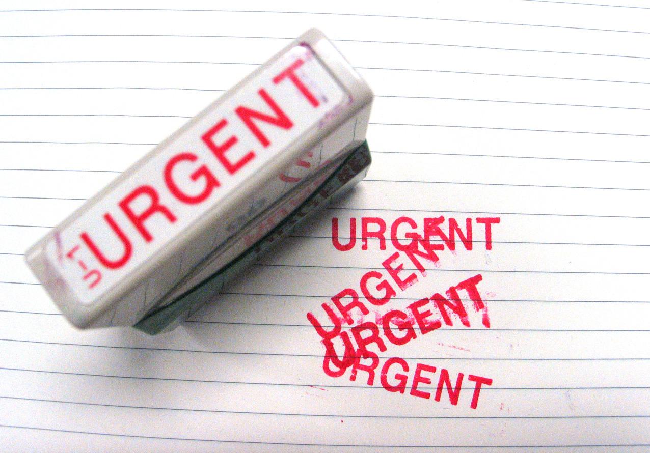 Urgent complaint