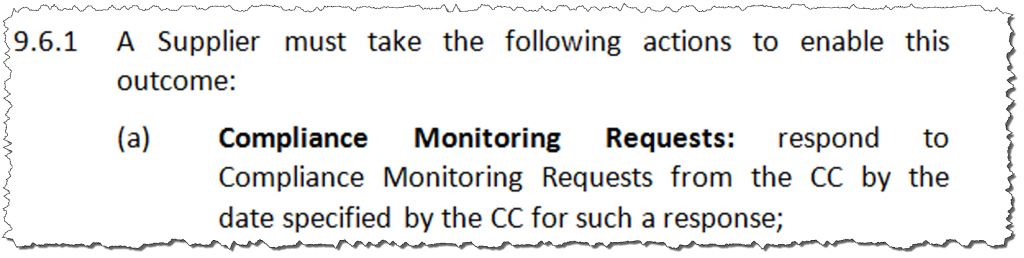 TCP Code 2012