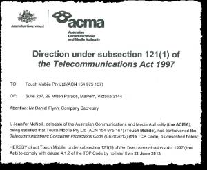 2012 TCP Code