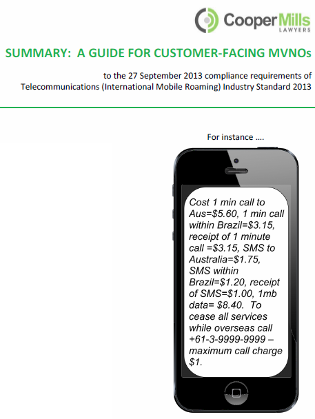 Summary Guide to the Mobile Roaming Industry Code